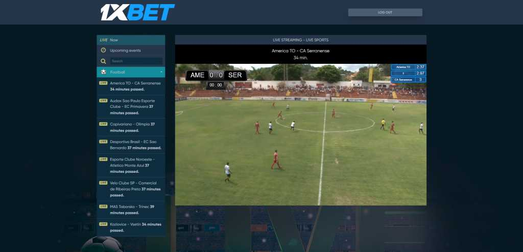 1xbet live streaming football